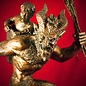 Hex Krampus Statue in Bronze Finish