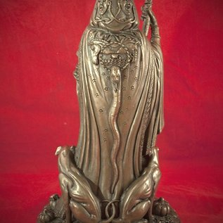 Hex Hecate Statue by Maxine Miller in Cold Cast Bronze