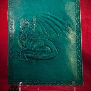 Hex Small Dragon Journal in Blue