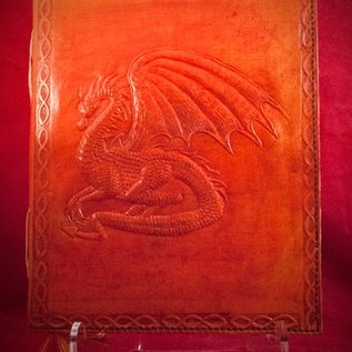 Hex Small Dragon Journal in Orange