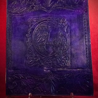 Hex Small Raven Journal in Purple