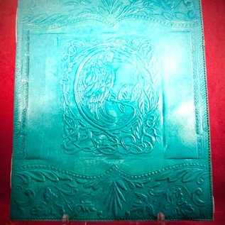 Hex Large Raven Journal in Blue