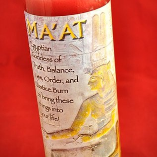 Hex Ma'at 7-Day Candle