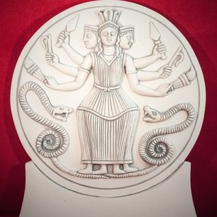 Hex Roman Hecate Plaque