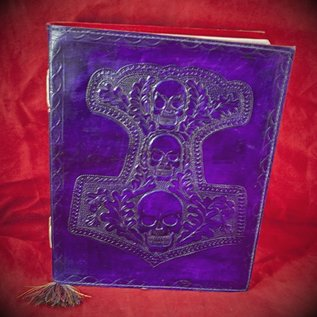 Hex Small Mjolnir Journal in Purple