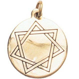 Hex Heptagram, Mystic Star Charm Pendant for Harmony in Love & Friendship