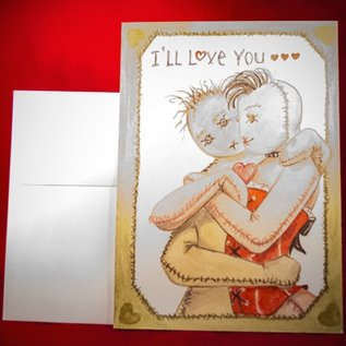 Hex Love You Till it Hurts Greeting Card