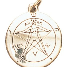 Hex Pentacle of Eden Charm Pendant for Winning a Lover's Heart
