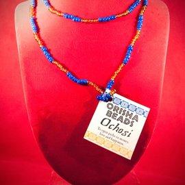 Hex Ochosi Orisha Beads