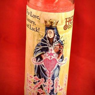 Hex Ezili Freda 7-Day Candle