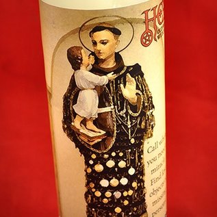 Hex St. Anthony 7-Day Candle