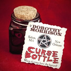 Hex Dorothy Morrison Curse Bottle