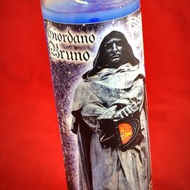 Hex Giordano Bruno 7-Day Candle