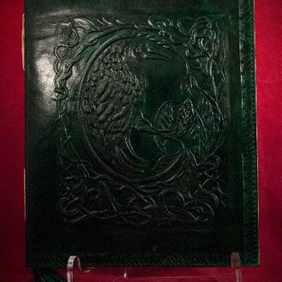 Hex Small Raven Journal in Green