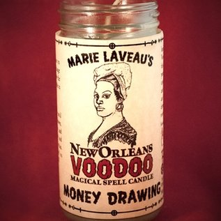 Hex Money Drawing - Marie Laveau's New Orleans Voodoo Spell Candle