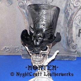 Hex Mortem Gothic Gravestones Topper Hat