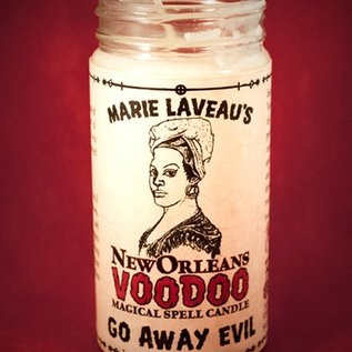Hex Go Away Evil - Marie Laveau's New Orleans Voodoo Spell Candle