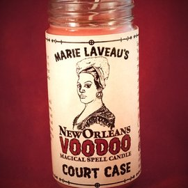 Hex Court Case - Marie Laveau's New Orleans Voodoo Spell Candle