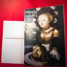 Hex Greeting Card - Happy Father's Day