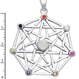 Hex Protective Septacle with Stones