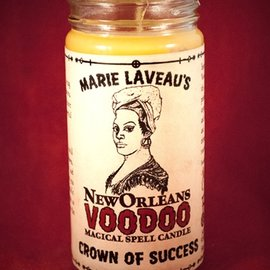 Hex Crown of Success - Marie Laveau's New Orleans Voodoo Spell Candle