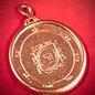 Hex Solomon Seal Fifth Pentacle of Venus in Red Bronze