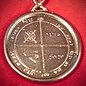 Hex Solomon Seal Third Pentacle of Jupiter in White Bronze