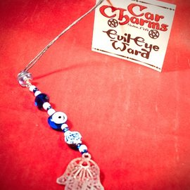 Hex Car Charm - Evil Eye Ward