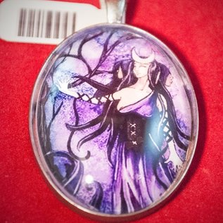 Hex Hecate Pendant by Heather Reid