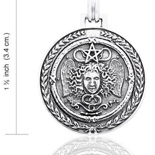 Hex Medusa Pentagram Pendant - Worldwide Exclusive to HEX