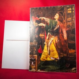 Hex Greeting Card - Morgan Le Fay