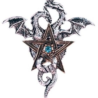 Hex Dragonstar Pendant: Balance & Stability