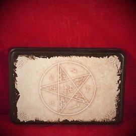 Hex Tetragrammaton Pentagram Pendulum Board