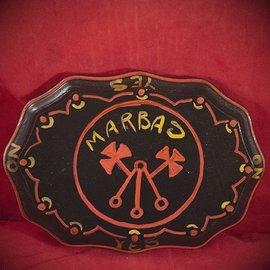 Hex Marbas Sigil Pendulum Board