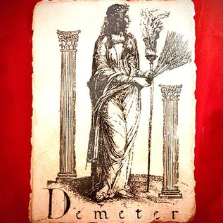Hex Demeter Placque