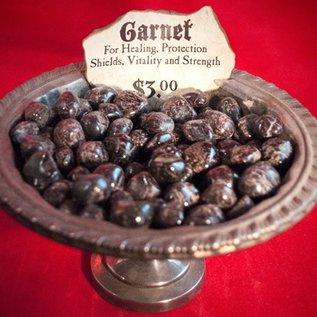 Hex Tumbled Garnet - Large