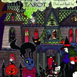 Hex Halloween Tarot Deck & Book Set: 78-Card Deck [With Book]