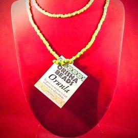 Hex Orunla Orisha Beads