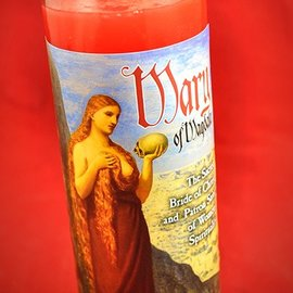 Hex Mary of Magdala 7-Day Candle
