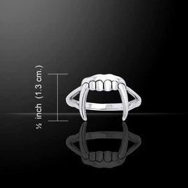 Hex Vampire Fangs Ring (14) - Worldwide Exclusive to HEX