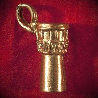 Hex Djembe in Bronze