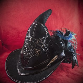 Hex Broom Rider Witching Hour in Black Suede