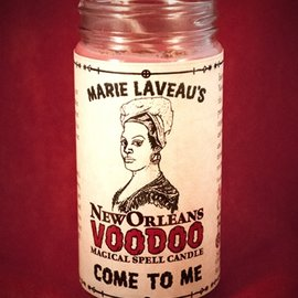 Hex Come to Me - Marie Laveau's New Orleans Voodoo Spell Candle
