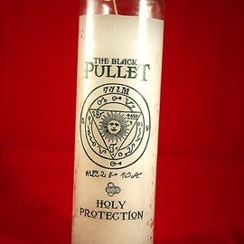 Hex Holy Protection 7-Day Black Pullet Candle