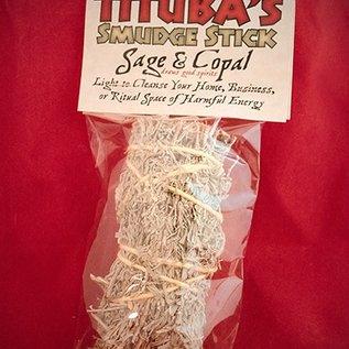 """Hex Sage & Copal Smudge Stick 5"""""""