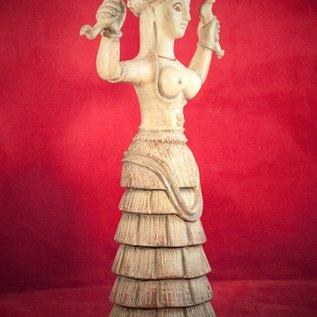 Hex Serpent Goddess Statue