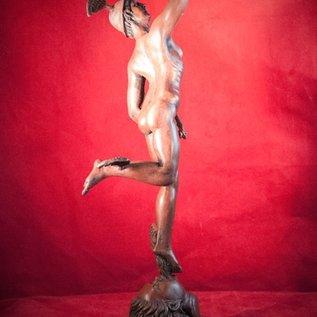 Hex Hermes Mercury Statue