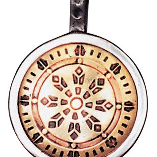 Hex Wheel of Law Talisman for Health, Wealth, & Happiness