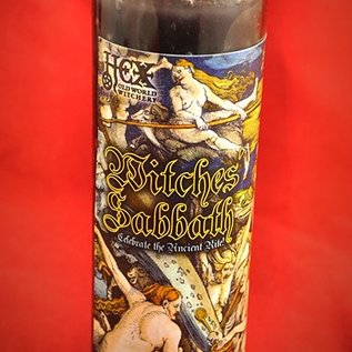 Hex Witches' Sabbath 7-Day Candle