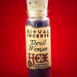 Hex Devil Woman Ritual Incense